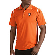 Antigua Men's Bowling Green Falcons Merit Xtra-Lite White Polo