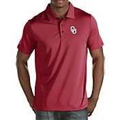Antigua Men's Oklahoma Sooners Crimson Quest Polo
