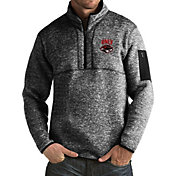 Antigua Men's UNLV Rebels Black Fortune Pullover Jacket