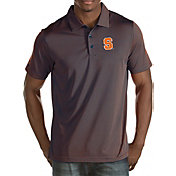 Antigua Men's Syracuse Orange Blue Quest Polo