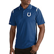 Antigua Men's Indianapolis Colts Merit Royal Xtra-Lite Polo