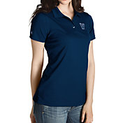 Antigua Women's Villanova Wildcats Navy Inspire Performance Polo