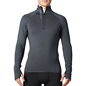 SECOND SKIN Men's Cold Weather Compression 1/4 Zip Long Sleeve Top