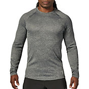 SECOND SKIN Men's Long Sleeve Heather Training Top