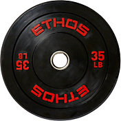 ETHOS 35 lb. Olympic Rubber Bumper Plate