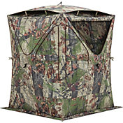 Barronett Blinds Big Mike Ground Blind with Vents – BLOODTRAIL Backwoods Camo