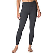 Betsey Johnson Performance Women's Lace Side Panel Ankle Leggings