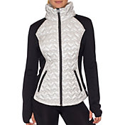 Betsey Johnson Performance Women's Quilted Hybrid Jacket