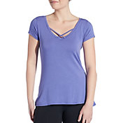 CALIA by Carrie Underwood Women's Front Strap T-Shirt