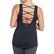 CALIA by Carrie Underwood Women's Move Twist Back Tank Top