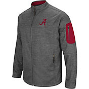 Colosseum Men's Alabama Crimson Tide Grey Anchor Full-Zip Jacket