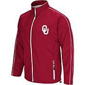 Colosseum Men's Oklahoma Sooners Crimson Barrier Full Zip Wind Jacket