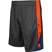 Colosseum Men's Syracuse Orange Grey Turn Over Shorts