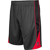 Colosseum Men's Texas Tech Red Raiders Grey Turn Over Shorts