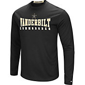 Colosseum Women's Vanderbilt Commodores Black Streamer Long Sleeve T-Shirt