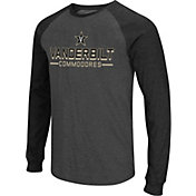 Colosseum Men's Vanderbilt Commodores Grey Olympus II Long Sleeve Shirt