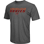 Colosseum Men's Virginia Tech Hokies Grey Matrix T-Shirt