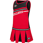 Colosseum Athletics Toddler Girls' Georgia Bulldogs Red Curling Cheer Set