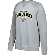 CCM Men's Boston Bruins Practice Grey Sweatshirt