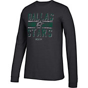 CCM Men's Dallas Stars Line Brawl Black Long Sleeve Shirt