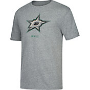 CCM Men's Dallas Stars Big Logo Heather Grey T-Shirt