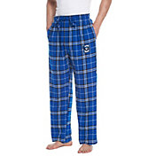 Concepts Sport Men's Creighton Bluejays Blue/Black Huddle Sleep Pants
