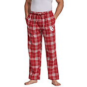 Concepts Sport Men's Oklahoma Sooners Crimson/Cream Huddle Sleep Pants