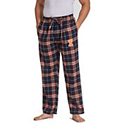 Concepts Sport Men's Illinois Fighting Illini Blue/Orange Huddle Sleep Pants