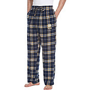 Concepts Sport Men's Notre Dame Fighting Irish Navy/Gold Huddle Sleep Pants