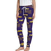 Concepts Sport Women's LSU Tigers Purple Slide Sleep Pants
