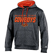 Champion Men's Oklahoma State Cowboys Grey T-Formation Hoodie