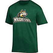 Champion Men's Wright State Raiders Green Big Soft T-Shirt