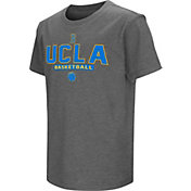 Colosseum Athletics Youth UCLA Bruins Grey Dual-Blend Basketball T-Shirt