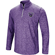 Colosseum Athletics Men's Central Arkansas Bears  Purple Action Pass Quarter-Zip Shirt