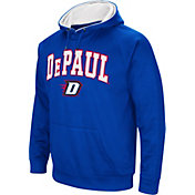 Colosseum Men's DePaul Blue Demons Royal Blue Fleece Hoodie