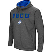 Colosseum Men's Florida Gulf Coast Eagles Grey Fleece Hoodie