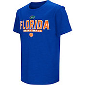 Colosseum Athletics Youth Florida Gators Blue Dual-Blend Basketball T-Shirt