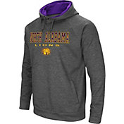 Colosseum Men's North Alabama Lions Grey Fleece Hoodie