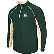 Colosseum Men's Charlotte 49ers Green Airstream Quarter-Zip
