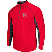 Colosseum Men's NC State Wolfpack Red Airstream Quarter-Zip Windshirt