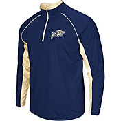 Colosseum Men's Navy Midshipmen Navy Airstream Quarter-Zip