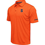 Colosseum Men's Syracuse Orange Orange Axis Polo