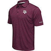 Colosseum Men's Texas A&M Aggies Maroon Axis Polo
