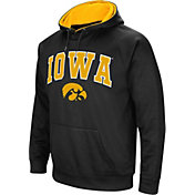 Colosseum Men's Iowa Hawkeyes Black Fleece Hoodie