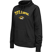 Colosseum Women's Missouri Tigers Black Funnel Neck Fleece Pullover
