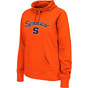 Colosseum Women's Syracuse Orange Orange Funnel Neck Fleece Pullover