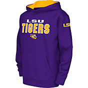 Colosseum Youth LSU Tigers Purple Fleece Hoodie