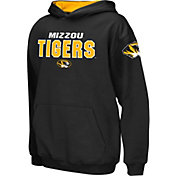 Colosseum Boys' Missouri Tigers Black Pullover Hoodie