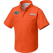 Columbia Youth Florida Gators Orange Tamiami Shirt