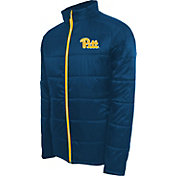 Campus Specialties Men's Pitt Panthers Blue Puffer Jacket